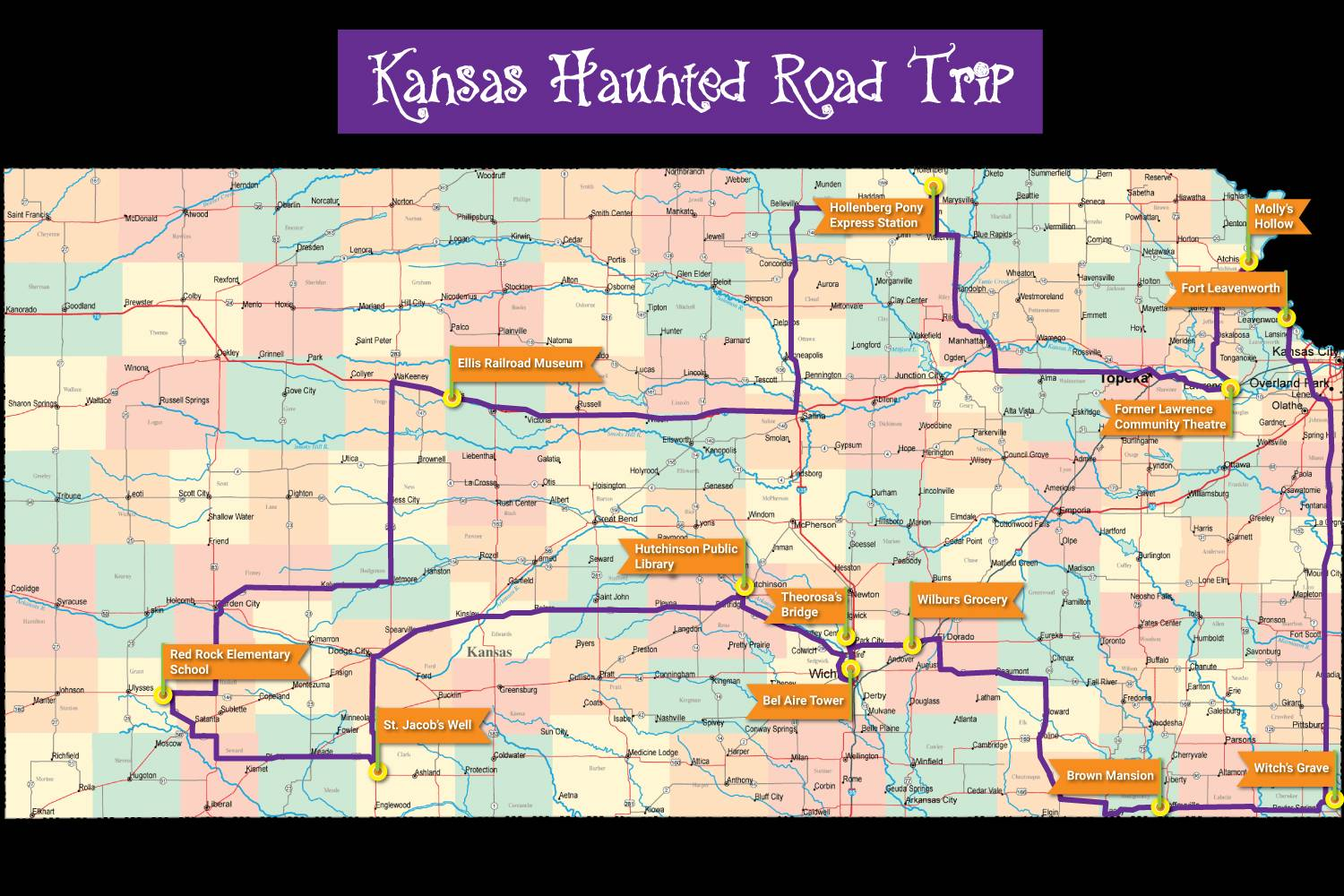 Haunted Kansas Road Trip 13 Spooky Locations to Make Your Blood Run