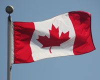 Photo Flag-of-Canada-Vanier-Park