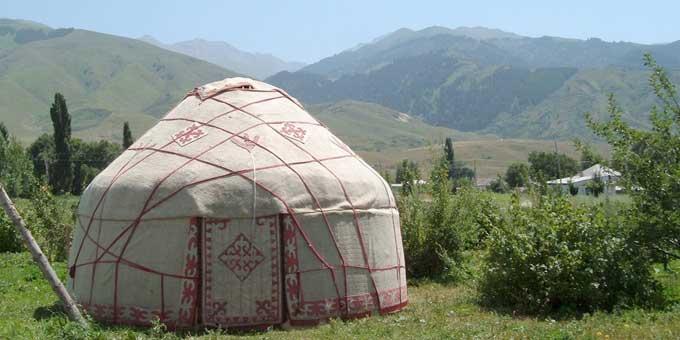Photo yurt