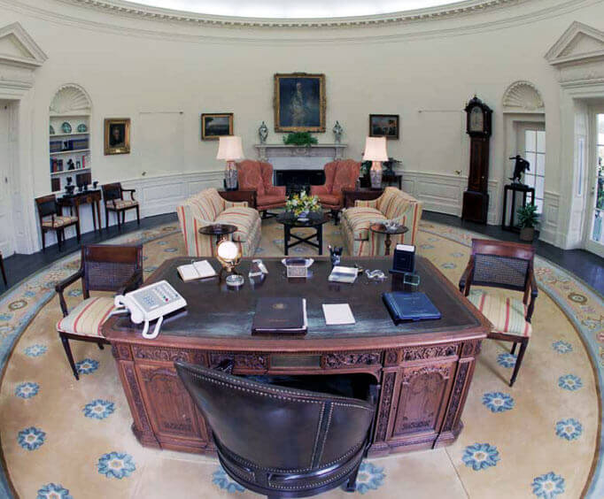 White House West Wing Tours, Oval Office