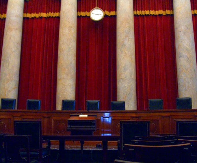 Supreme Court seating