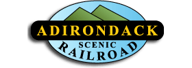 Adirondack Scenic Railroad Tour Round Trip from Lake Placid