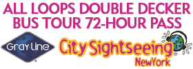 All Loops Double Decker Bus Tour 72-Hour Pass