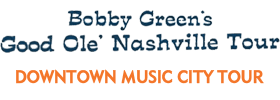 Downtown Nashville Music City Bus Tour 2019 Schedule