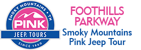 Foothills Parkway Smoky Mountains Pink Jeep Tour 2019 Schedule
