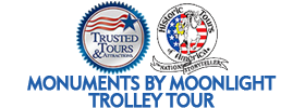 Monuments by Moonlight Trolley Tour