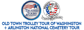 Old Town Trolley Tour of Washington + Arlington National Cemetery Tour   Schedule