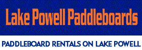 Paddleboard Rentals on Lake Powell in Page, Arizona