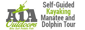Self-Guided Kayaking Manatee and Dolphin Tour 2019 Schedule