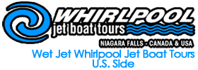 Wet Jet Whirlpool Jet Boat Tours - U.S. Side