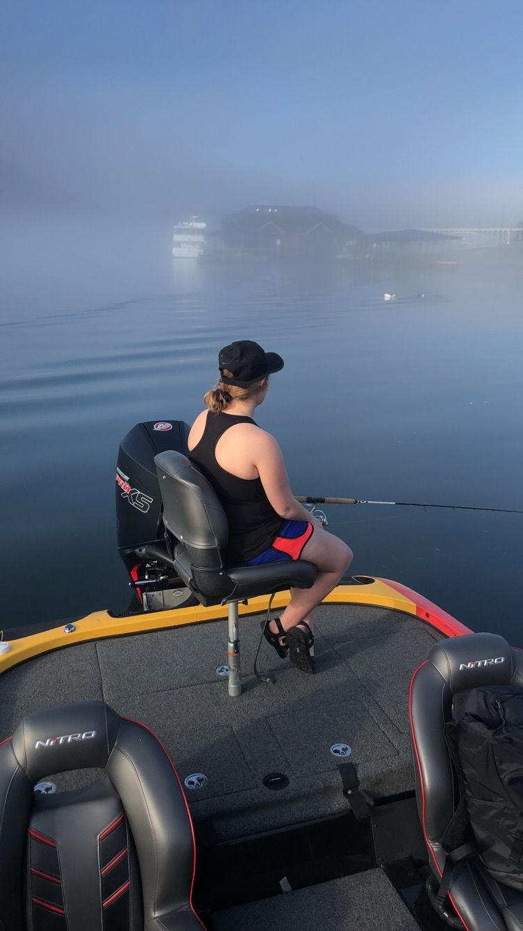 Fog on the Water with Branson Guided Fishing Tours