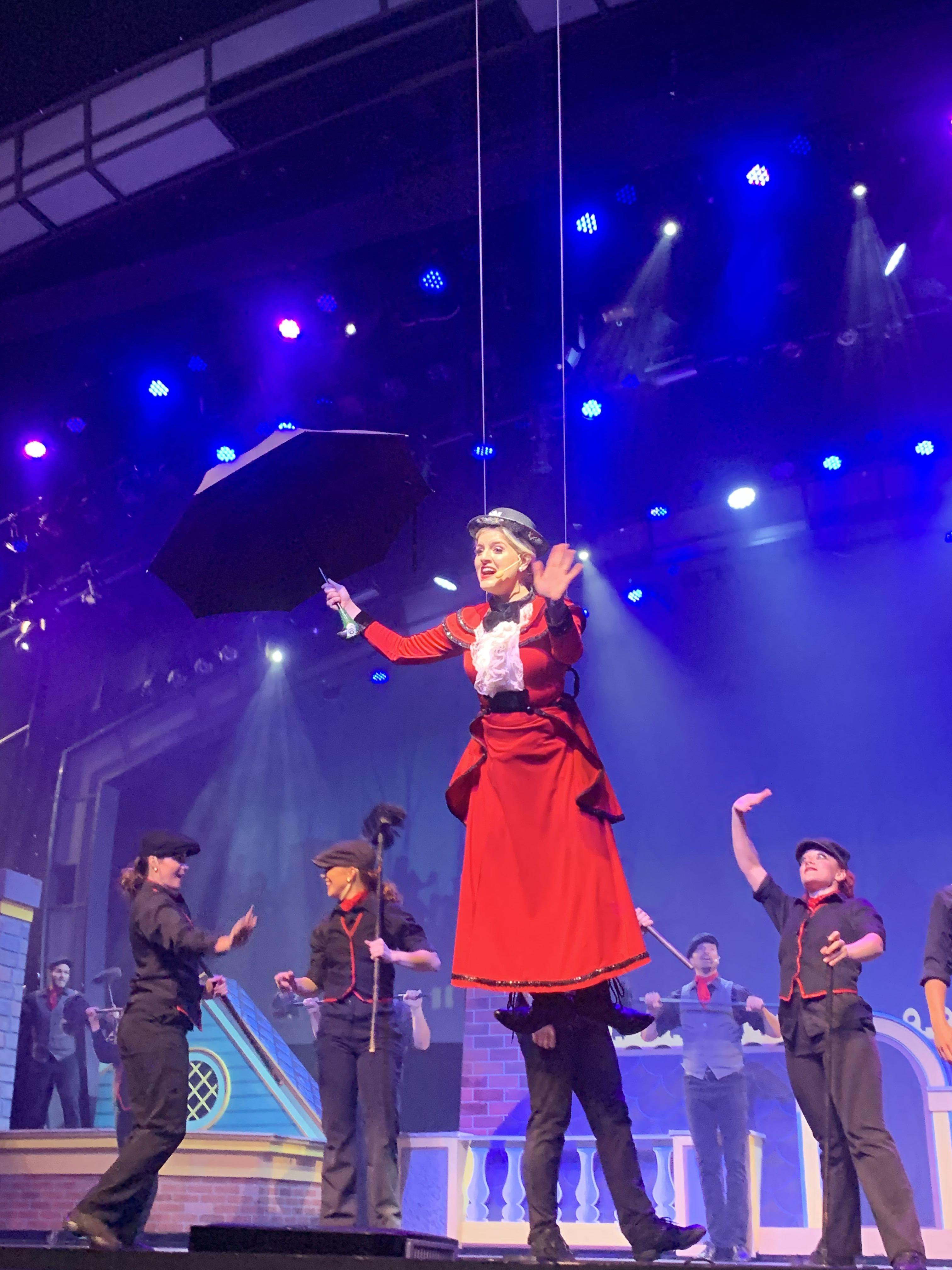 Mary Poppins at the Smoky Mountain Opry Variety Show