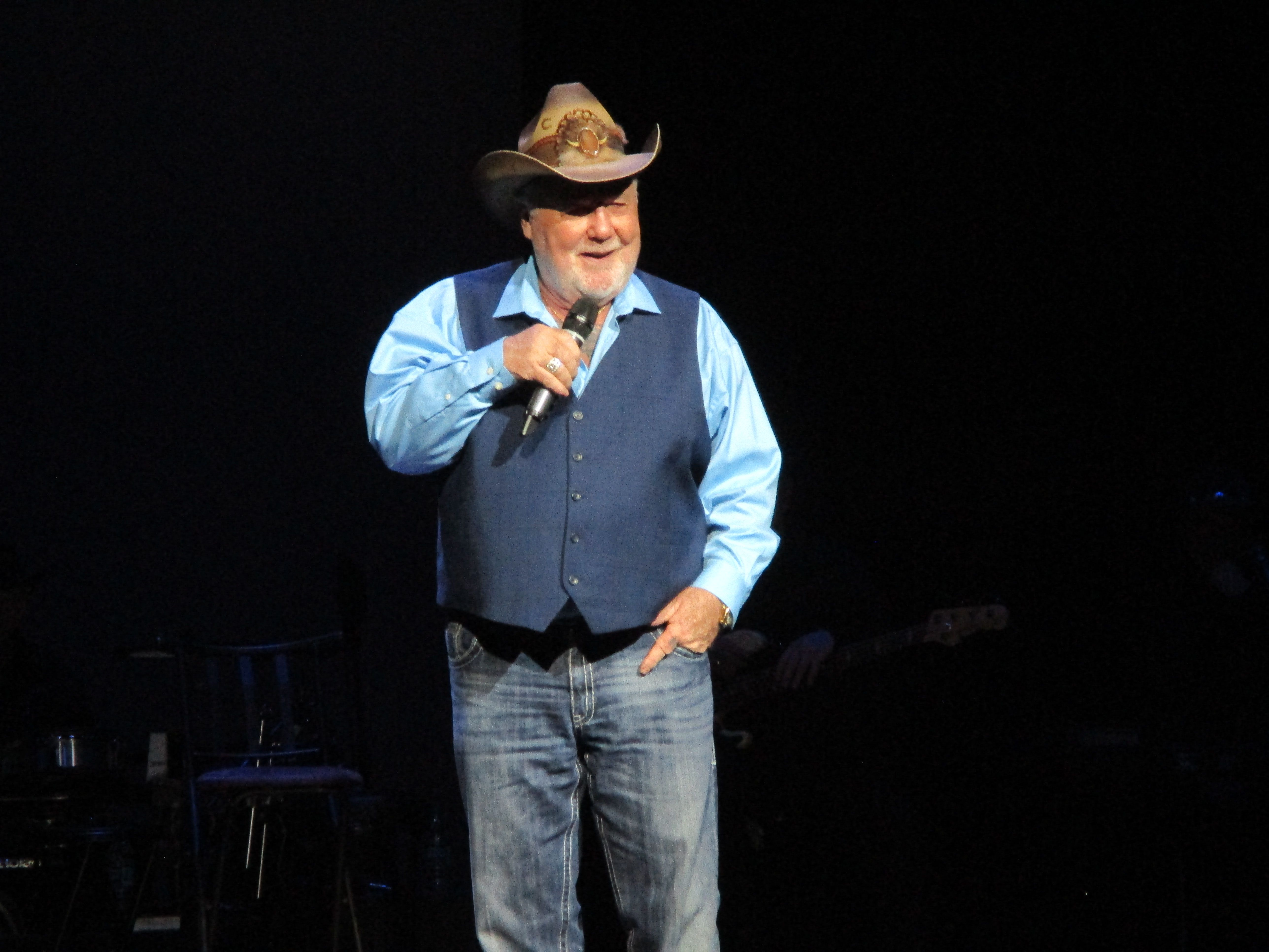 On Stage at Mickey Gilley and Johnny Lee Urban Cowboy Reunion Show