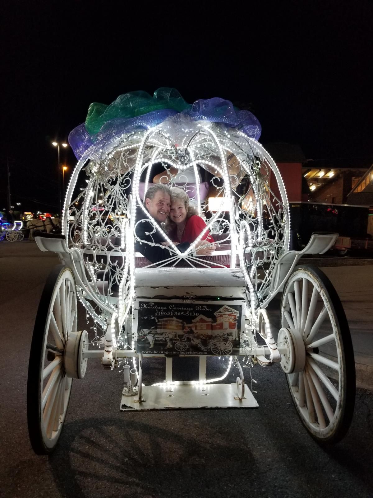 Romantic Carriage with Heritage Carriage Rides Romance Package