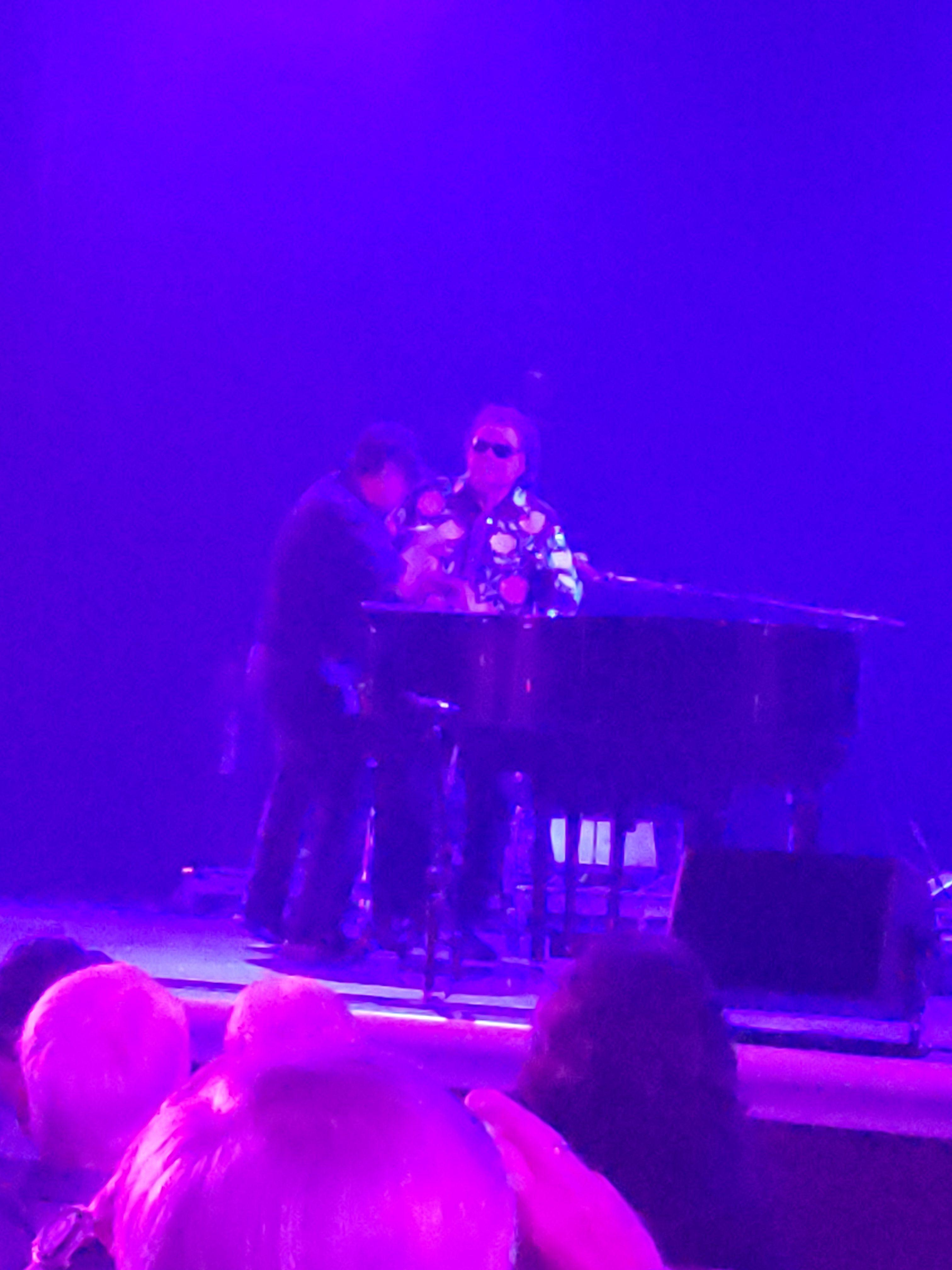 Piano Playing at Ronnie Milsap Live in Branson