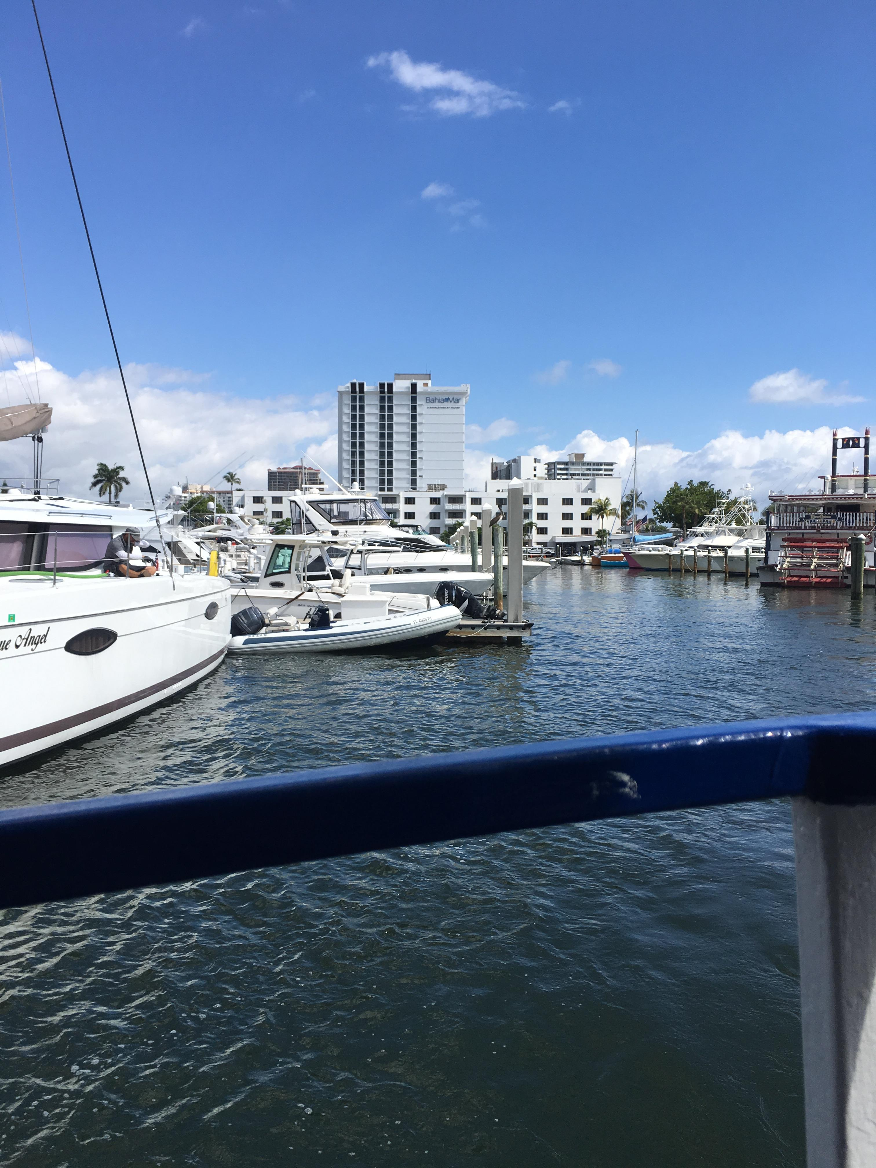 The Harbor with the Jungle Queen Riverboat Fort Lauderdale Sightseeing and Dinner Cruises