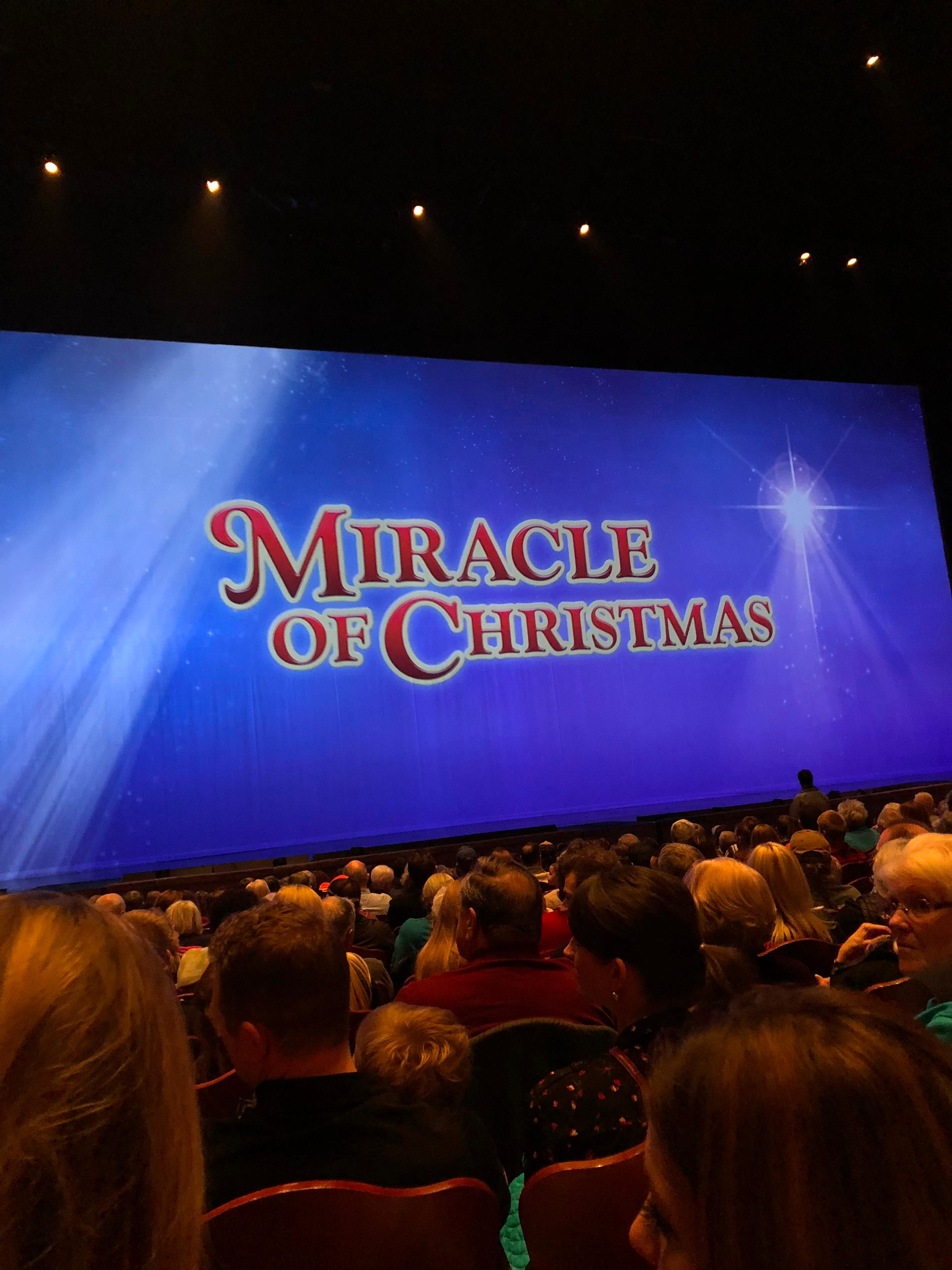 Miracle of Christmas at Sight and Sound Theatres Branson