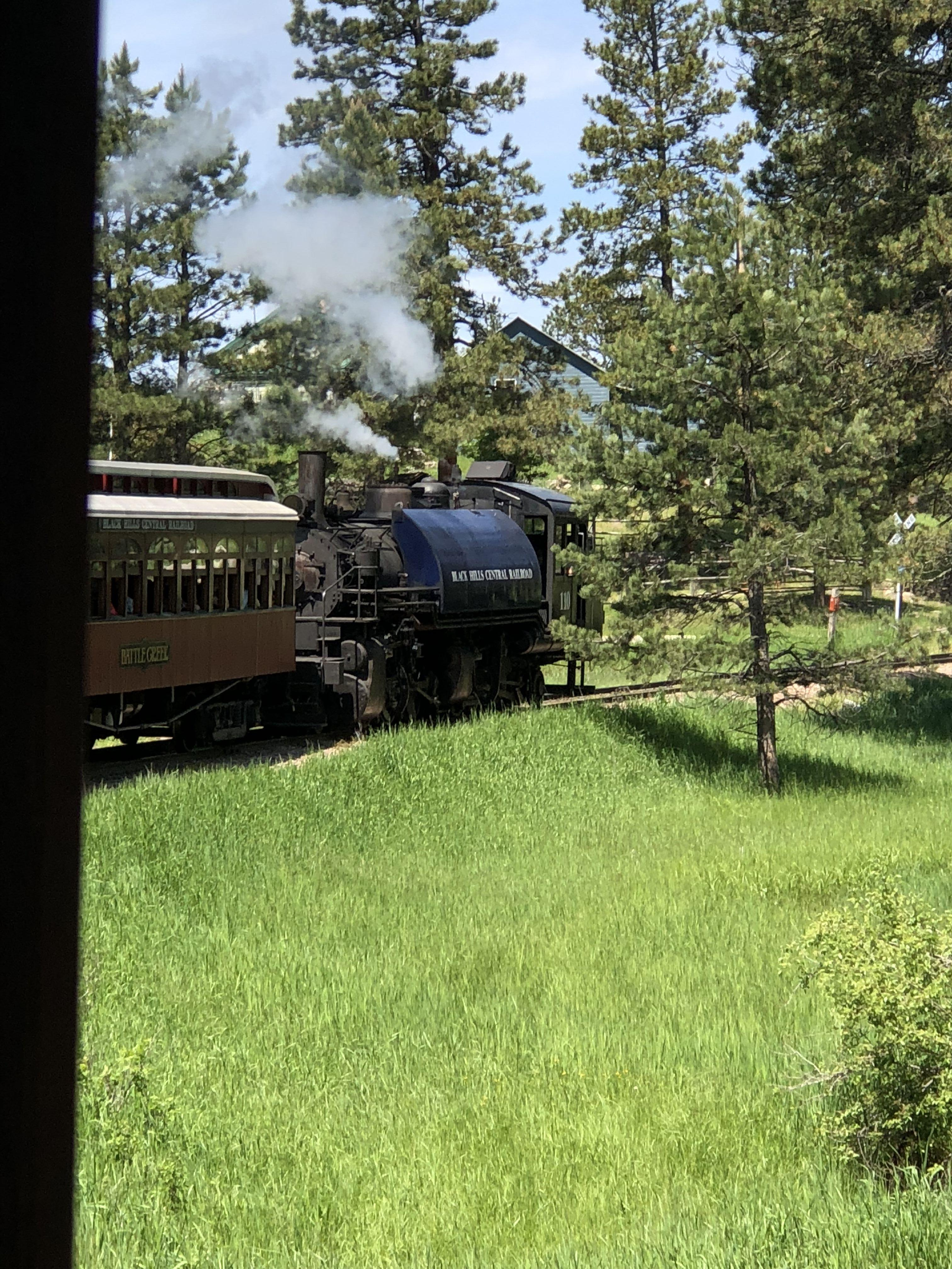 Steam Engine with 1880 Train: A 19th Century Train Ride Tour