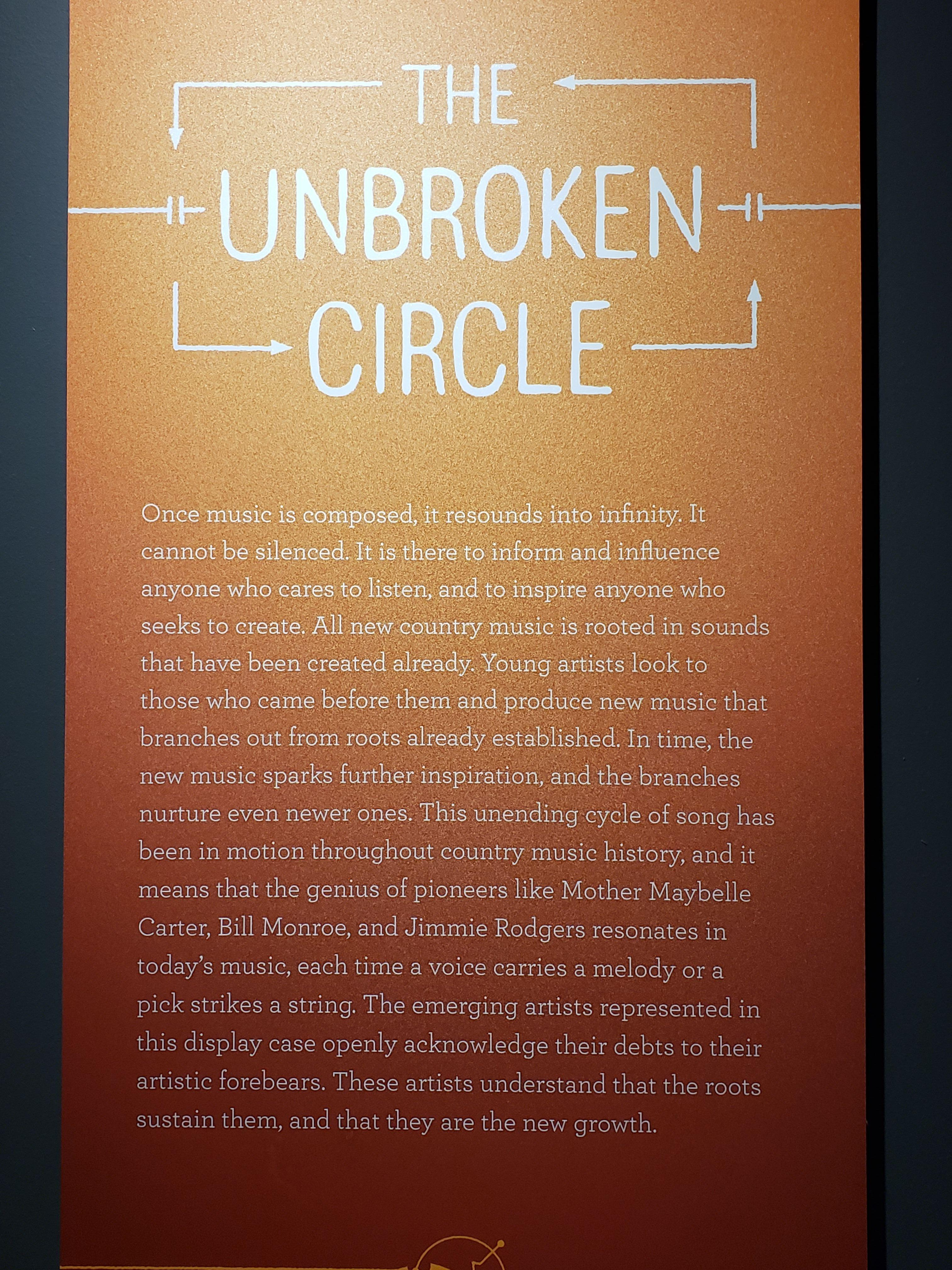 The Unbroken Circle with the Country Music Hall of Fame and Museum