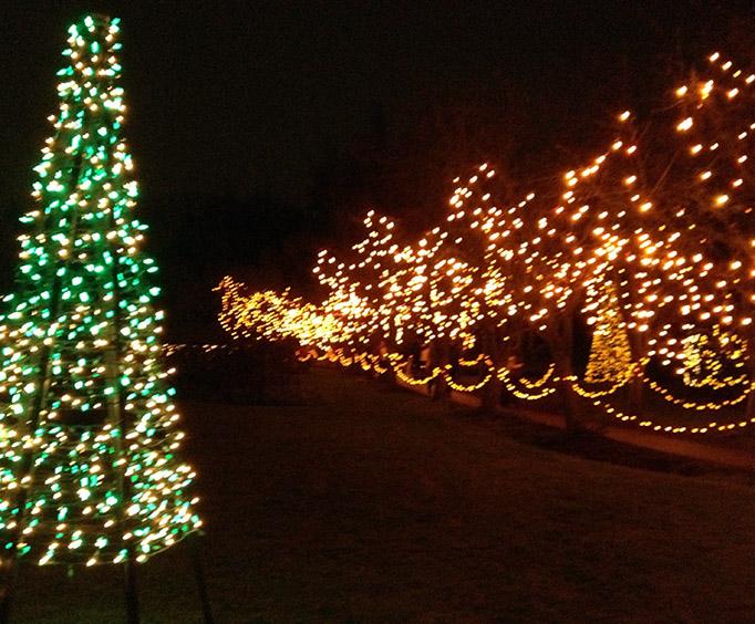 winter wonderland christmas light tour near tulsa ok - Christmas Lights Tulsa