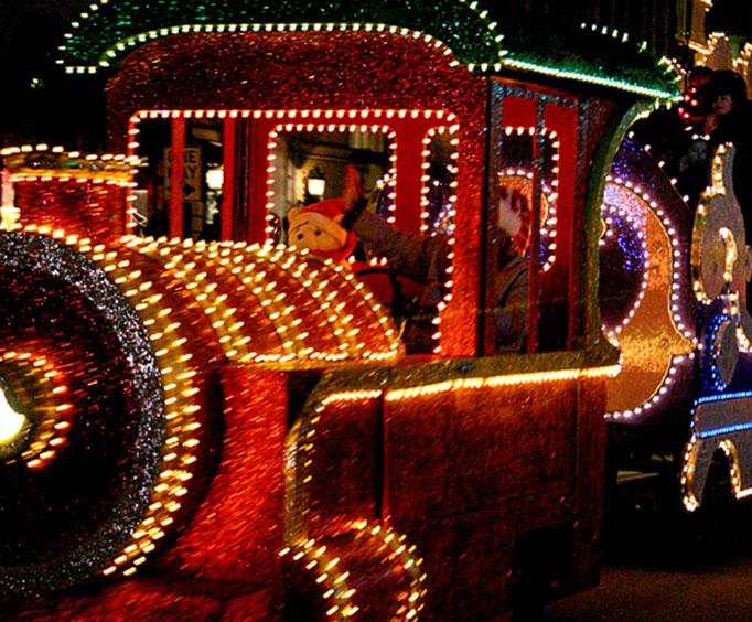 pawhuska christmas parade of lights near tulsa ok