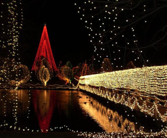chickasha festival of light at shannon springs park near oklahoma city ok - Chickasha Christmas Lights
