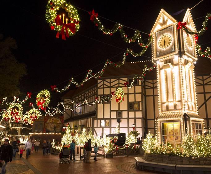 Busch Gardens Christmas Town In Tampa Bay Fl