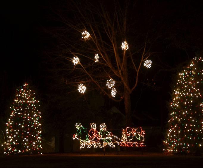 christmas town usa near charlotte nc