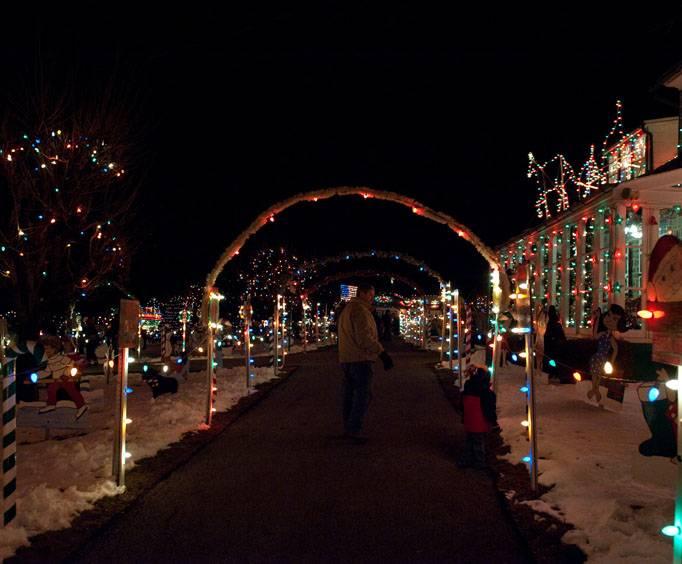 koziars christmas village near hershey pa - Bernville Christmas Village