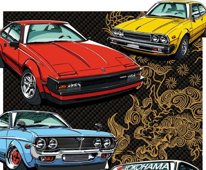 Annual Japanese Classic Car Show In Long Beach CA - Japanese classic car show