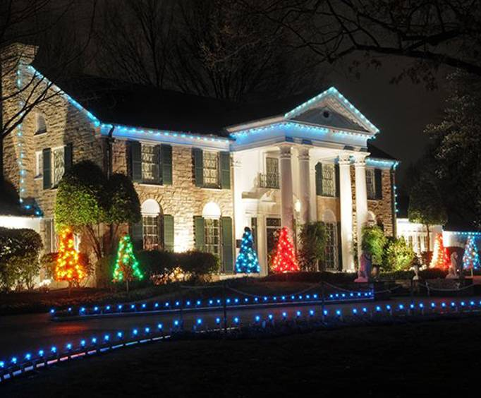 Christmas At Graceland In Memphis Tn