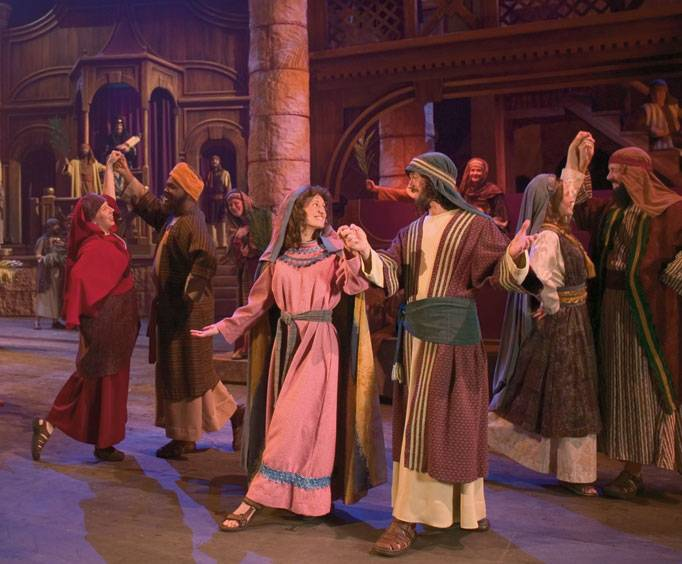 miracle of christmas at the sight sound theatre in lancaster pa