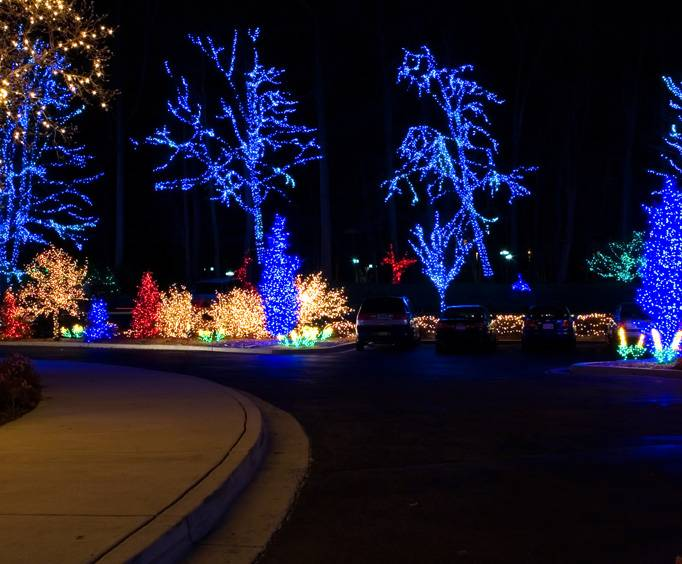 winter days and lights in chattanooga tn