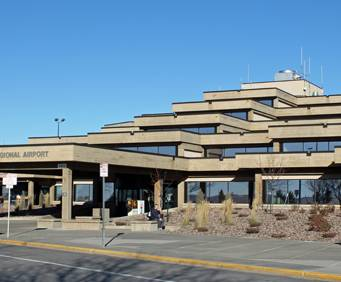Rapid City Regional Airport near Mount Rushmore
