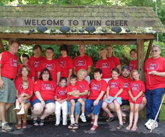 Twin Creek RV Resort in Gatlinburg, TN