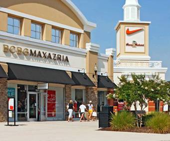 Prime Outlets in Queenstown, MD