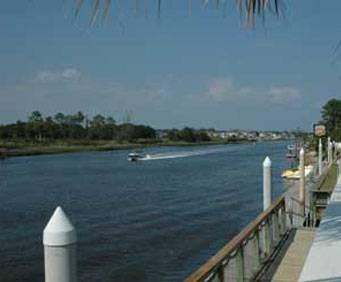 Intracoastal Waterway in Myrtle Beach, SC