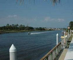 The waterway in Myrtle Beach