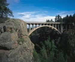 Bridge near Wind Cave