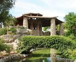 Japanese Sunken Garden in San Antonio, TX