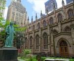 Trinity Church courtyard
