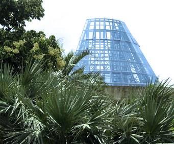 San Antonio Botanical Garden Lucille Halsell Conservatory