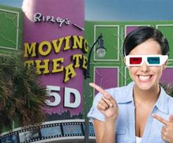 Ripley's Motion Master Moving Theater in Myrtle Beach, SC, 5D theater