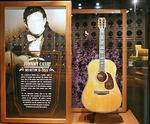 The Johnny Cash Museum in Nashville, TN, guitar