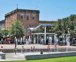 Ellis Square in Savannah, GA, family fun