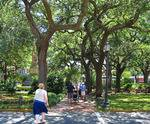 Wright Square in Savannah, GA, sightseeing