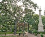 Thomas Square Historic District in Savannah, GA, Wright Square