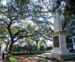 Johnson Square in Savannah, GA