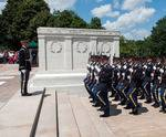 Tomb of the Unknowns at Arlington National Cemetery in Washington, DC