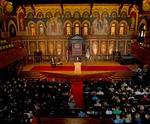 Georgetown University in Washington, DC, auditorium